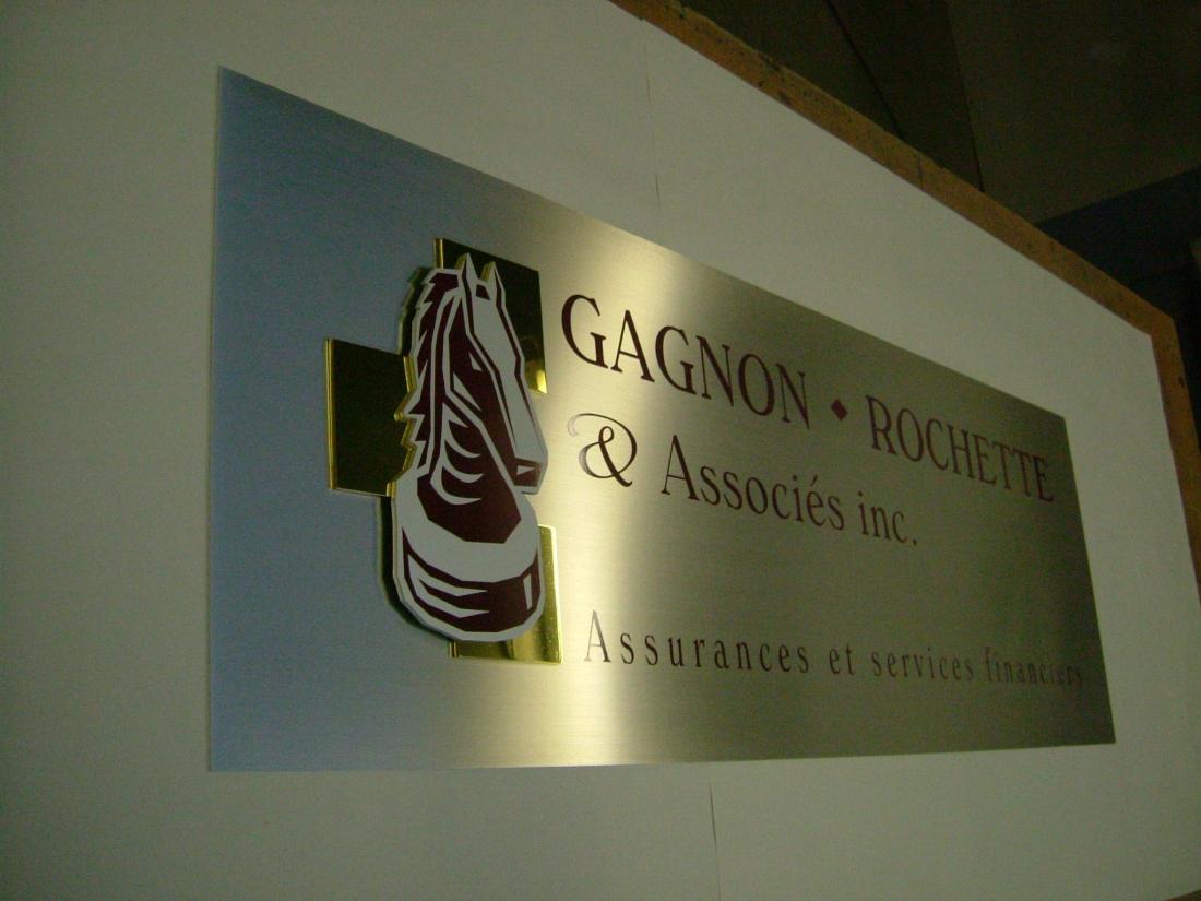 Enseigne - Gagnon Rochette