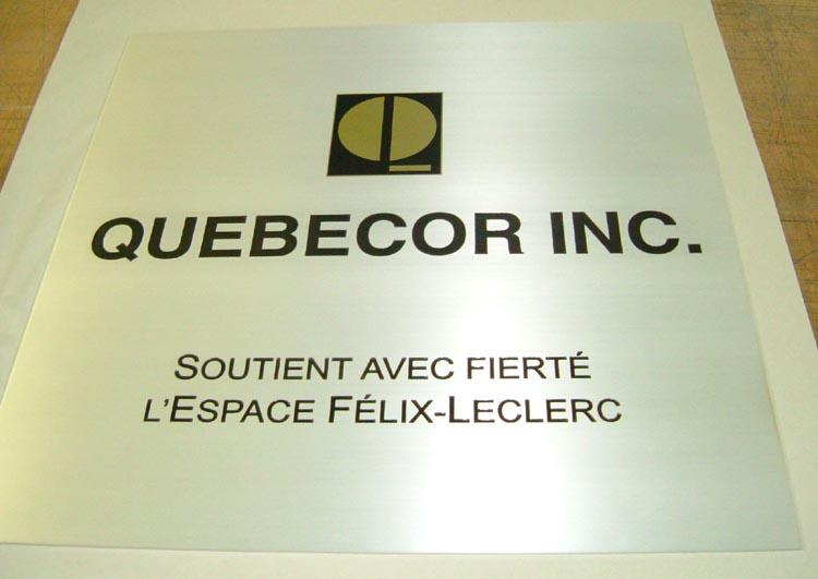Plaque Commémorative - Espace Felix Leclerc