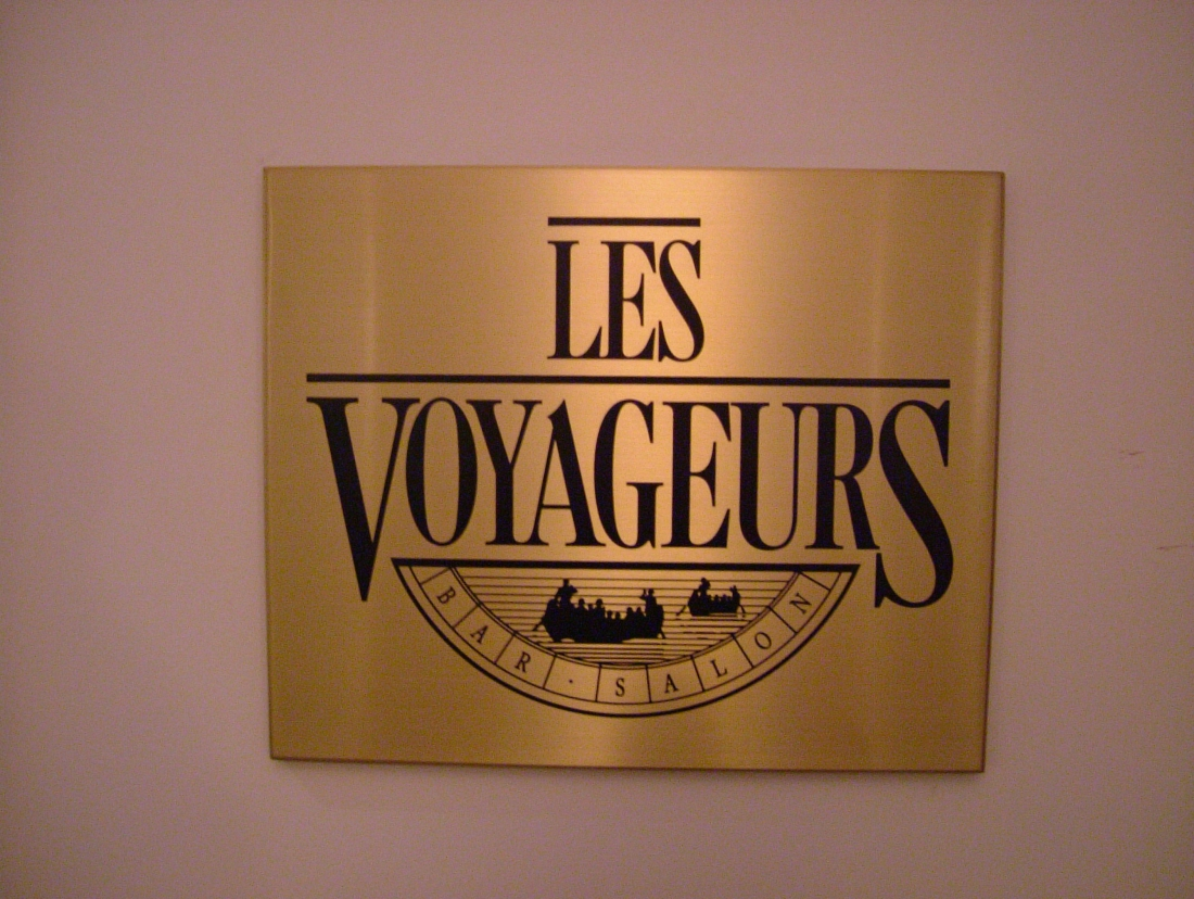 Enseigne - Les Voyageurs