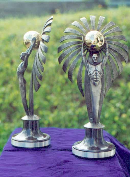 Trophée - Bronze et laiton - Grands feux Loto-Québec
