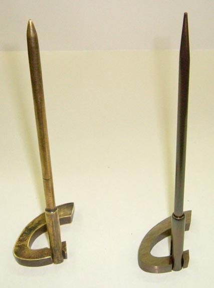 Trophée - Bronze oxydé - Biennale internationale du lin de Portneuf