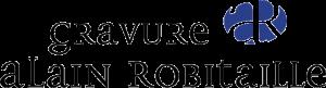 Gravure Alain Robitaille Logo