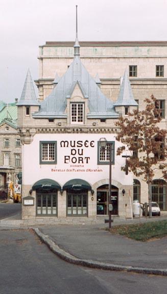 Enseigne - Musée du Fort